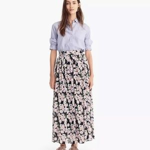 NWT J. Crew Point Sur Maxi Skirt